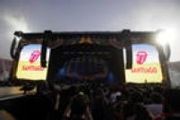 O palco tinha 58 metros de largura e 25 metros de profundidade