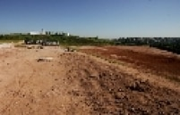 Terreno onde será construído o estádio de Itaquera para a Copa do Mundo 2014, em São Paulo