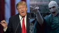 """O magnata Donald Trump ja foi comparado ao vilãoVoldemort, da série juvenil Harry Potter,pela própria escritora J. K. Rowling por suas declarações sobre a proibição daentrada de muçulmanos nos EUA. Além disso, em outubro de 2015, quando se comemorava os 30 anos do filme """"De Volta para o Futuro"""", o roteirista do longa, Bob Gale, admitiu que o empresário inspirou o personagem Biff Tannen, vilão da história"""