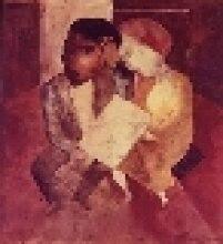 """Obra """"Casal"""", do artista Lasar Segall, foi roubada da Estação Pinacoteca na quinta, 12 de junho. Três homens invadiram o local e levaram ainda dois t"""