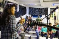 Escola ocupada tem apresentação musical na zona norte da capital paulista