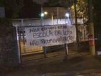 A E.E.Conselheiro Crispiniano, na Vila Progresso, em Guarulhos, foi ocupada por alunos em 23 de novembro em protesto contra a reorganização da unidade, que deixará de ter ensino médio