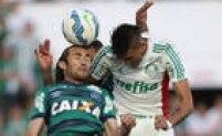 Palmeiras sofreu muito com as bolas aéreas contra a Chapecoense