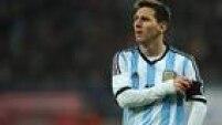 O argentino Lionel Messi