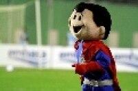 O Bahia adotou um super herói bem parecido com o Super-Homem para representar a equipe nos dias de jogo