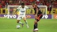 Dudu tematuação abaixo do esperado e Palmeiras apenas empata com o Sport num belo jogo