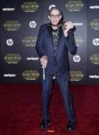 Peter Mayhew, que interpreta o Chewbacca