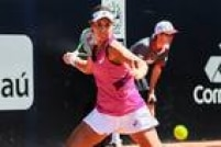 Paula Gonçalves não se intimidou diante da sueca Johanna Larsson, segunda cabeça de chave, venceu e está nas quartas de final do Brasil Open