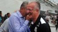 Dorival reclamou da postura do time do Santos apesar da vitória no clássico