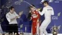 Nico Rosberg comemora segunda vitória da temporada