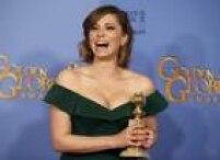 Rachel Bloom foi premiada. Ela estrela a série 'Crazy Ex-Girlfriend'