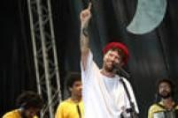 Após ser atração no trio-elétrico no dia de abertura, o cantor Saulo Fernandes fez apresentação no Baile Infantil, que ocorreu nesta quinta na Arena Fonte Nova