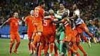 Agora a Holanda tentará quebrar a sina de vice-campeã (1974, 1978 e 2010) para conquistar o título inédito.