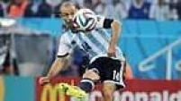 Mascherano também foi fundamental para levar a seleção argentina até a final da Copa. Aos 30 anos, é peça indispensável da equipe do Barcelona.