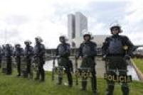 Policia faz a seguranca do Congresso Nacional. Foto: Dida Sampaio/Estadão