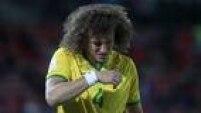 David Luiz se machucou ainda no primeiro tempo contra o Chile