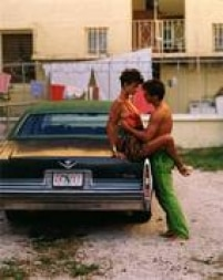 A modelo britânica Linda Evangelista se transformou em uma garota cubana no ensaio da Vogue Itália de 1989.