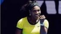 Serena garantiu vaga nas quartas de final ao despachar a russa Margarita Gasparyan com vitória por 2 sets a 0