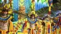 "A escola de sambaAcadêmicos do Tucuruvi trouxe o enredo ""Celebrando a Religiosidade: Tucuruvi canta Festas de Fé"""