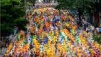 A 91ª edição da São Silvestre reuniu cerca de 30 mil corredores de 37 países pelas ruas de São Paulo
