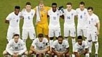 . Manaus (Brazil), 14/06/2014.- The English team pose for a team picture prior to the FIFA World Cup 2014 group D preliminary round match between England and Italy at the Arena Amazonia in Manaus, Brazil, 14 June 2014.