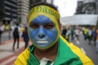 Manifestantes fazem ato contra o governo de Dilma Rousseff na Avenida Paulista