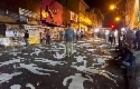 Um ano após a tragédia da boate Kiss, Santa Maria homenageou os242 mortos no incêndio. A prefeitura decretou luto oficial