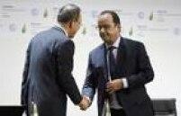 'Hoje vivemos um dia histórico', diz o presidente da França, François Hollande, na abertura da COP-21
