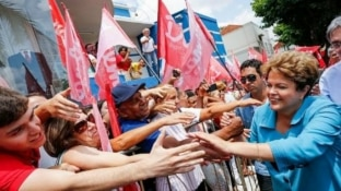 Divulgação - Dilma faz campanha em Uberaba, Minas Gerais