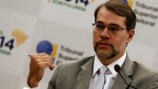 André Dusek/Estadão - O presidente do TSE, Dias Toffoli