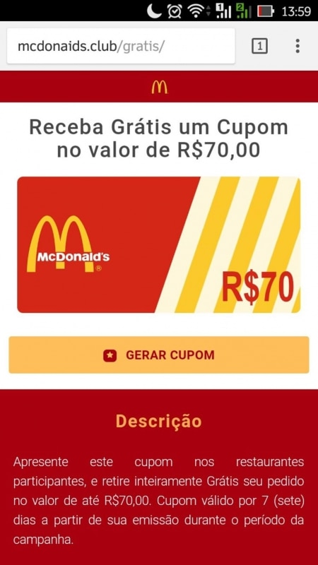 http://link.estadao.com.br/noticias/cultura-digital,golpe-no-whatsapp-oferece-cupom-falso-do-mcdonalds-para-infectar-usuarios,70001841583