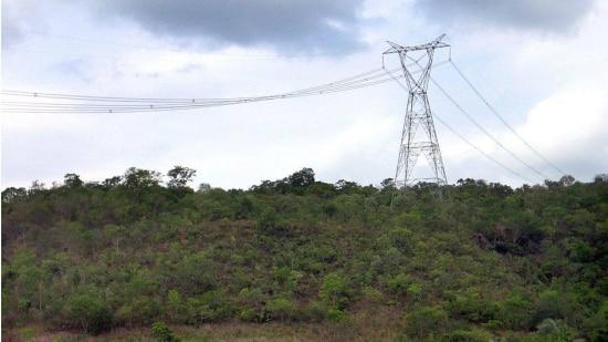 Torres de energia foram derrubadas no Complexo Hidrelétrico do Rio Madeira