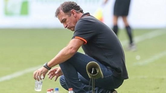 Cuca já disse que gostaria de trabalhar no Palmeiras, onde jogou em 1992