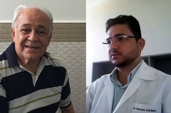 No Piauí. Campos (E) ficou paralisado e Vieira observou o aumento durante surto de zika