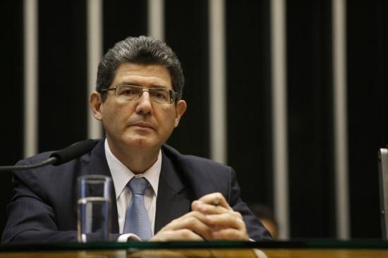 O ministro da Fazenda,Joaquim Levy, afirmouque mudança na meta fiscal é 'arrumação da casa'