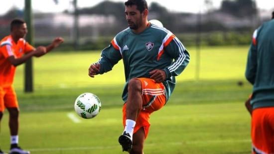 Diego Souza agradece ao Fluminense por ter aberto às portas em seu início de carreira