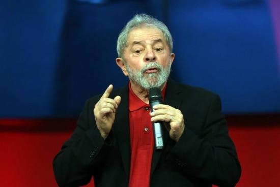 O ex-presidente LuizInácio Lula da SIlva
