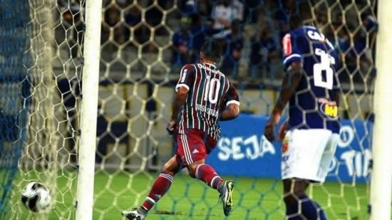 Diego Souza é um dos líderes do Fluminense