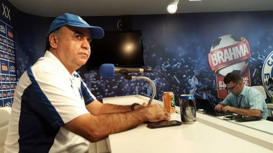 Marcelo Oliveira esta satisfeito com o rendimento dos jogadores do Cruzeiro