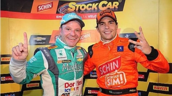 Barrichello e Marcos Gomes foram os grandes vencedores do fim de semana da Stock Car em Cascavel