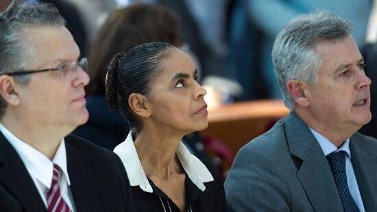Marina se nega a estar em campanha ao lado de Alckmin e Beto Richa