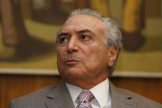 O vice-presidente Michel Temer (PMDB-SP)
