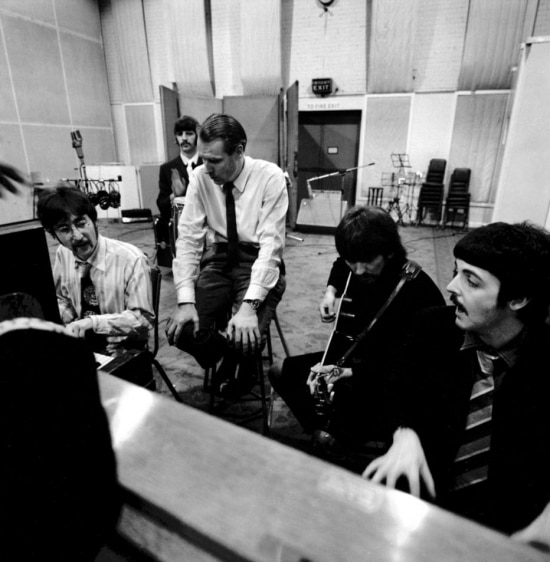 George Martin e os Beatles
