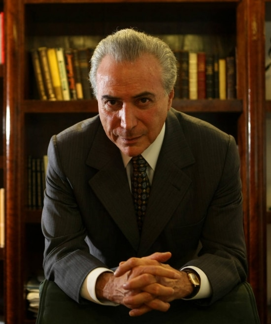 O vice Michel Temer (PMDB-SP)