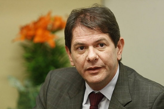 O ex-ministro da Educação,Cid Gomes