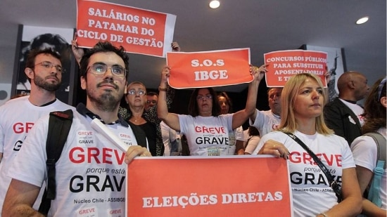 Paralisação no IBGE afeta coleta de dados de pesquisas