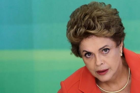 A presidente Dilma Rousseff em café da manhã com jornalistas em Brasília