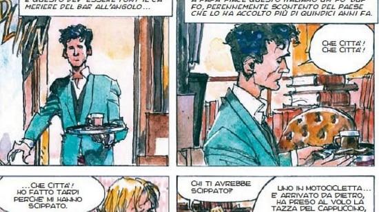 Milazzo fez aquarelas magníficas para uma história original profundamente literária, a história do livreiro Pierre, que vive uma existência tediosamente rotineira