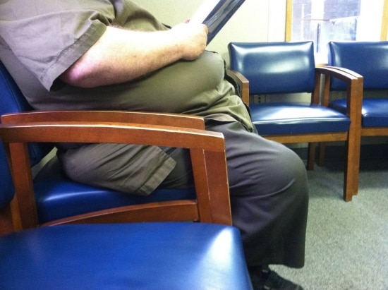 Pessoas com circunferência abdominal aumentada têm tendência a desenvolverem pré-diabete