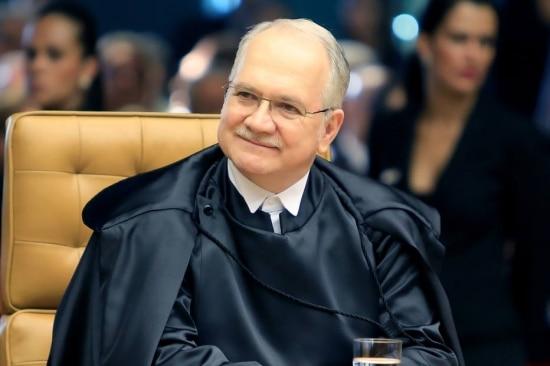 O ministro do Supremo Tribunal Federal (STF), Luiz Edson Fachin